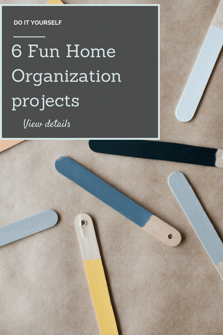 six fun home organization projects