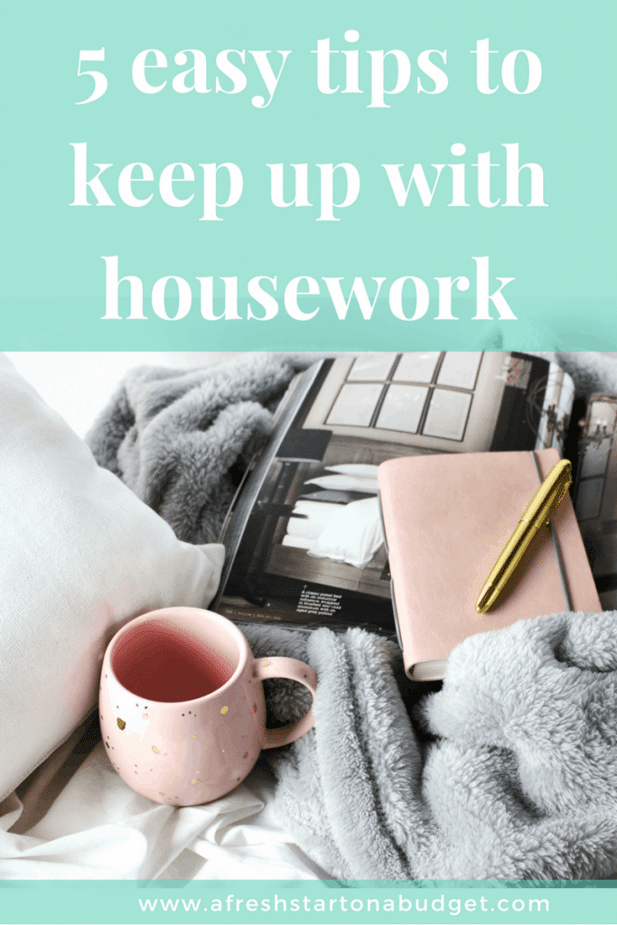5 easy tips to keep up with cleaning So that you can get your home clean and organized