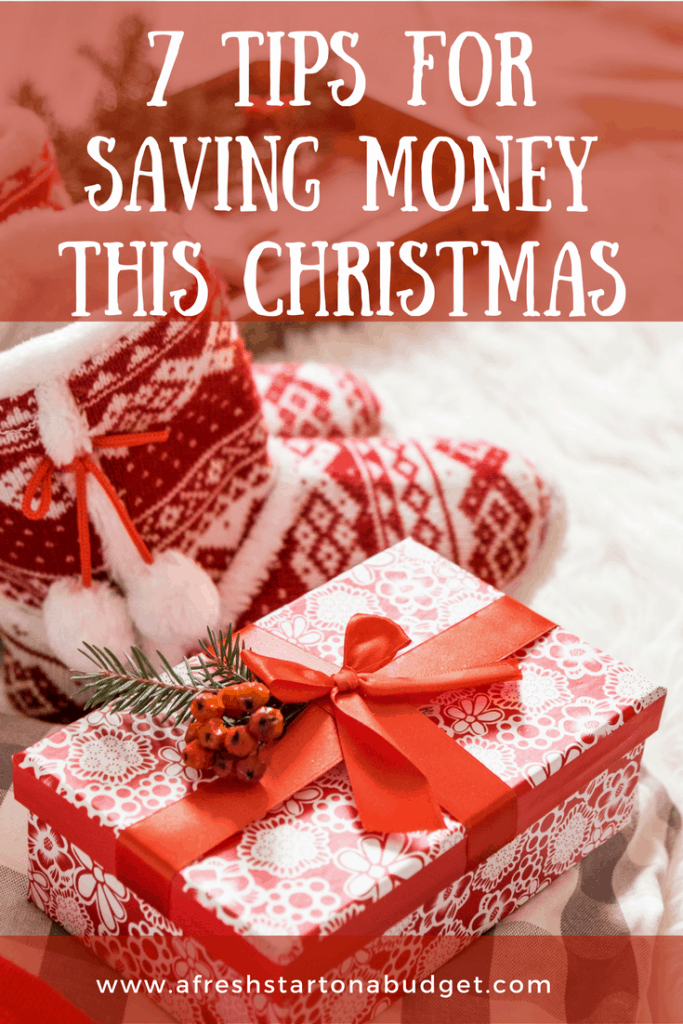 7 tips for saving money this Christmas. Don't go broke this Christmas. Here's how to save money during the holidays.