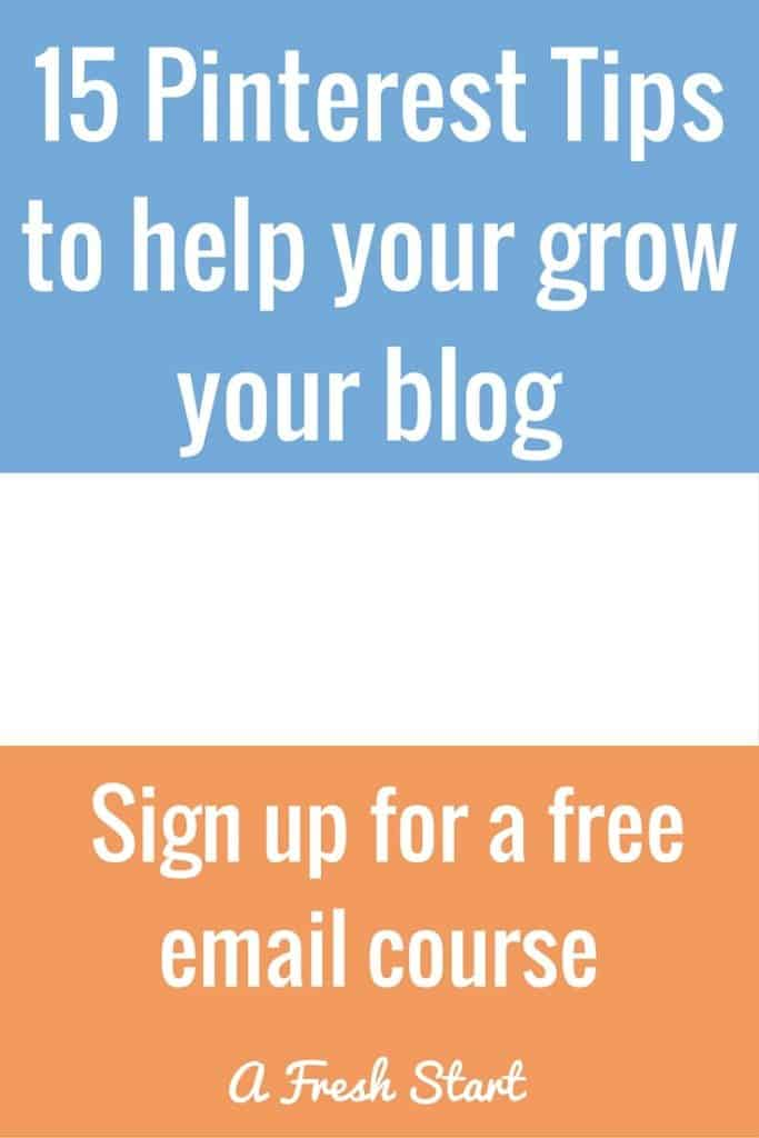 15 Pinterest Tips to help your grow your blog.