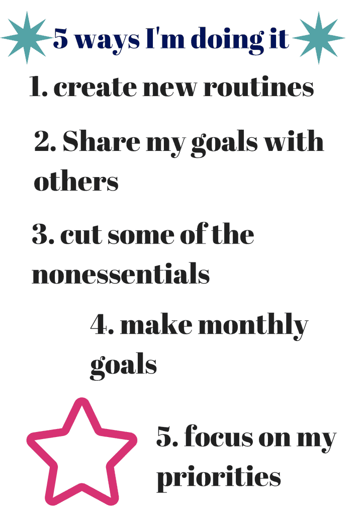 5 ways to help keep up your goals