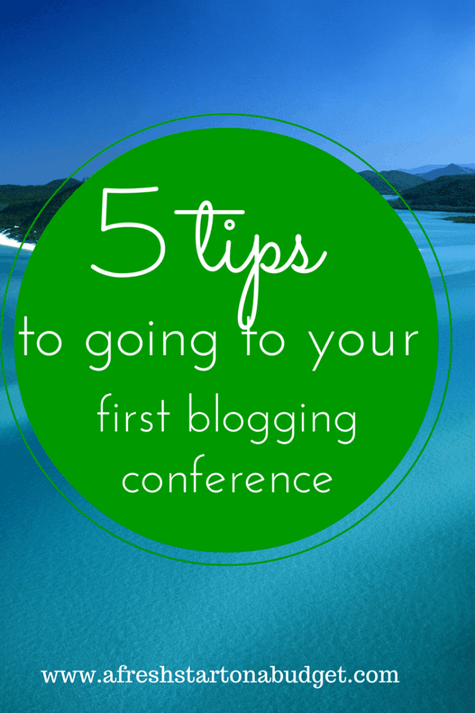 5 tips to going to to going to your first blog conference