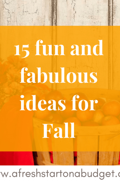 15 that are all the Fall Things