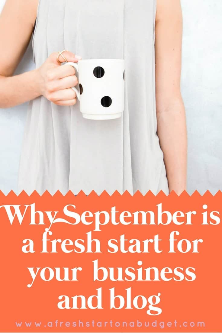 Why September is a fresh start for your business and blog