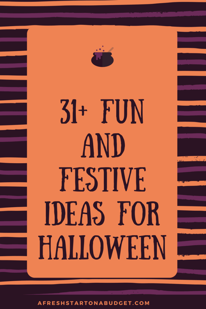 31+ Fun and Festive Ideas For Halloween Get ideas for costumes, halloween decorations, desserts and more