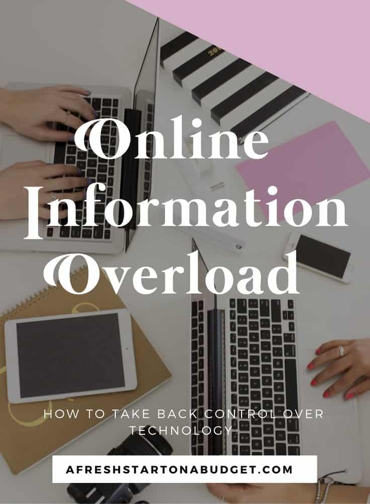 Information overload: How I'm trying to take back control of the information