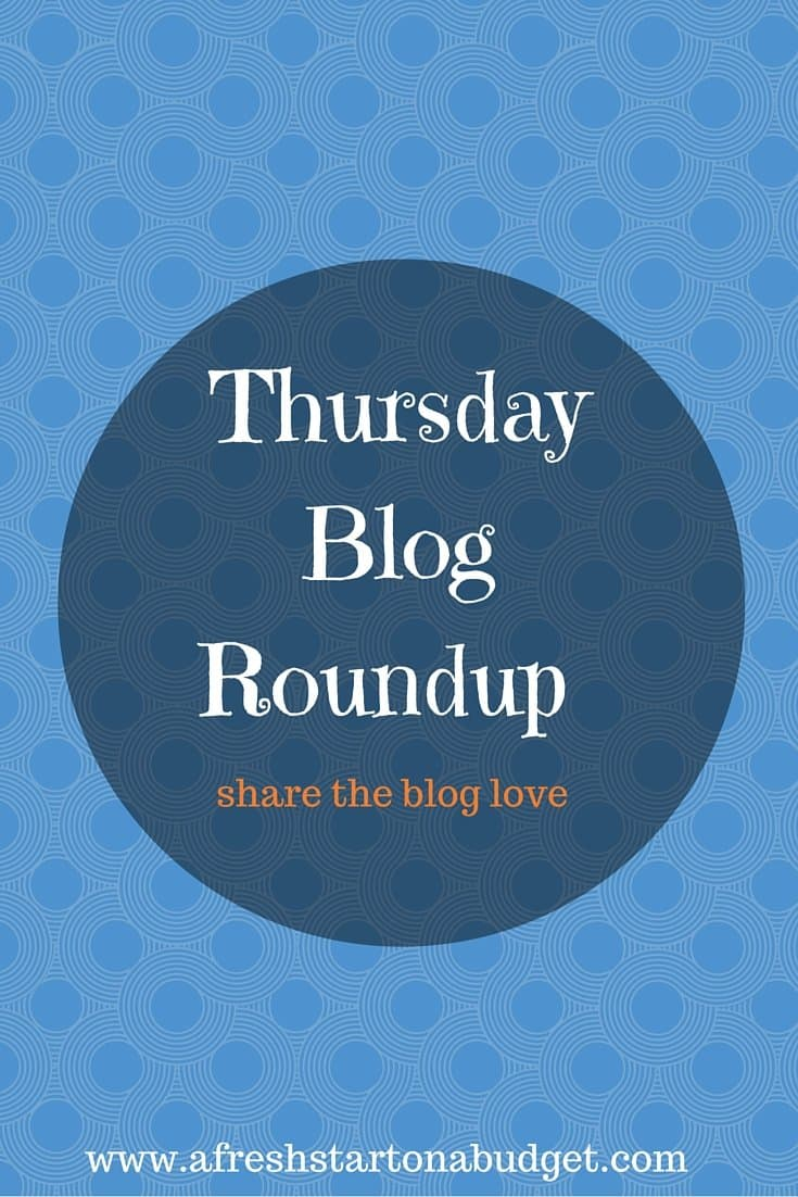 Thursday Blog Roundup