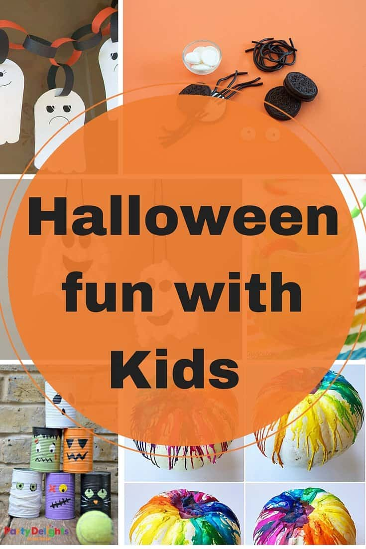 Halloween fun with kids- September Blog Hop