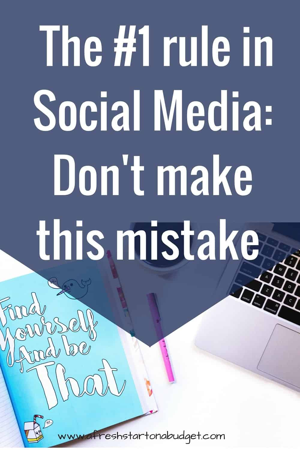 As a blogger or entrepreneur, social media is so important to growing your traffic and brand. Don't make this social media mistake, though. Click through to read and check it out. I'd love to know your thoughts, so leave a comment
