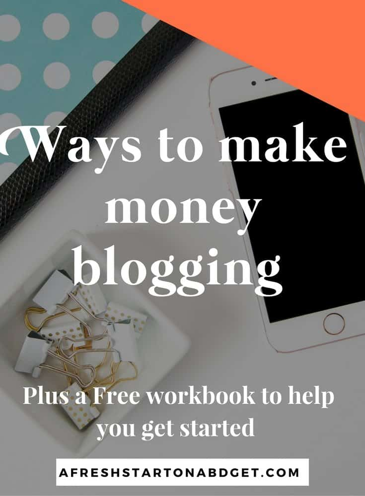 Other ways to make money blogging that bloggers may not know about