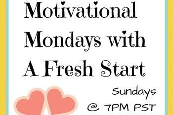 Motivational Monday Linkup #89