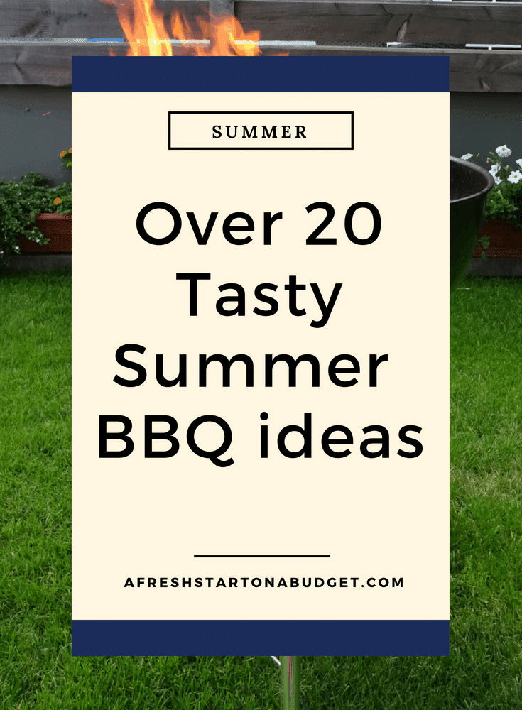 Over 20 Taaty summer BBQ ideas #summerfun #bbqideas #fourthofjuly #summerpartyfood #bbqpartyfood #