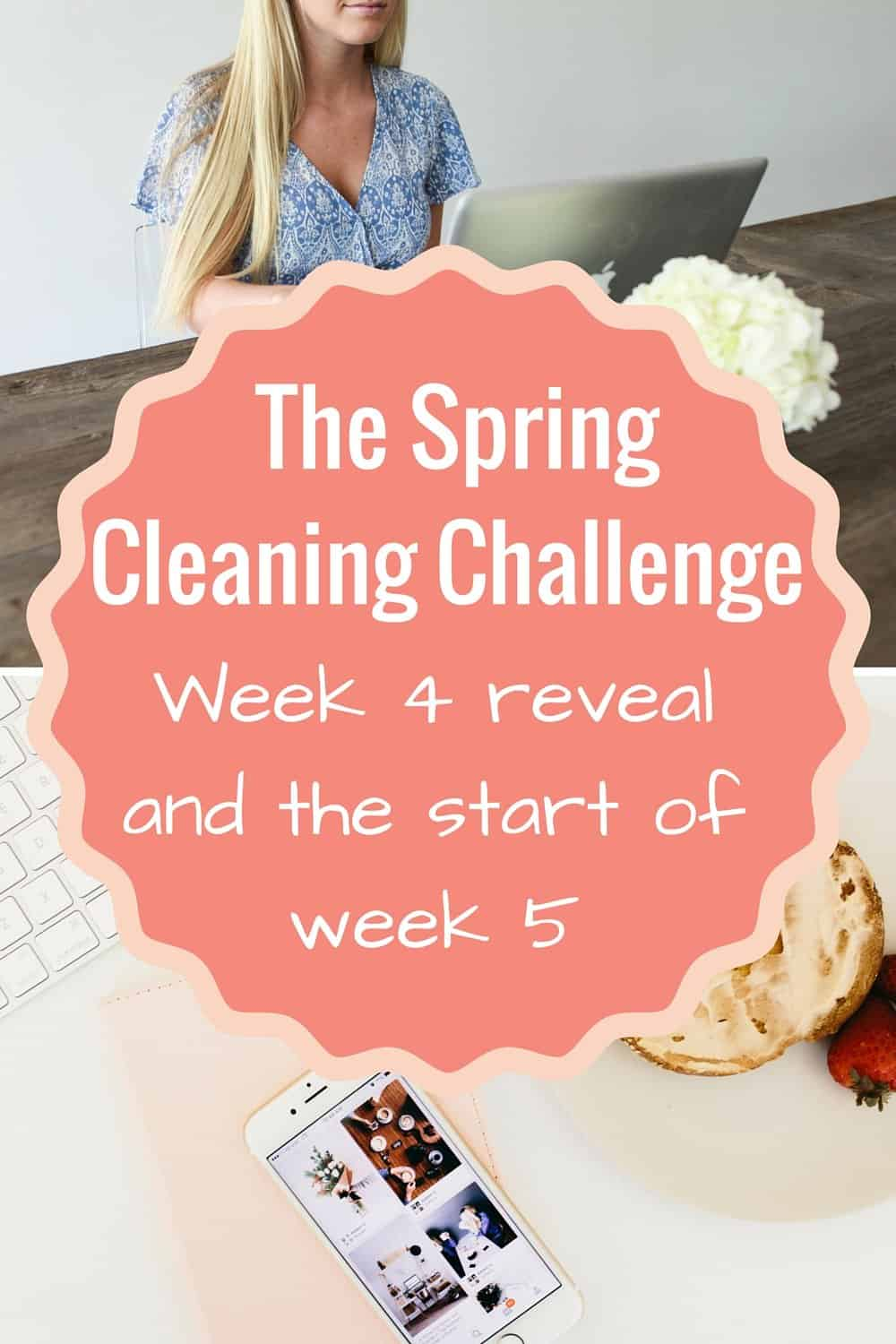 Spring Cleaning series Week 5: Kid Spaces and Week 4 reveal