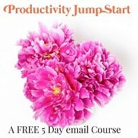 Productivity Jump Start course