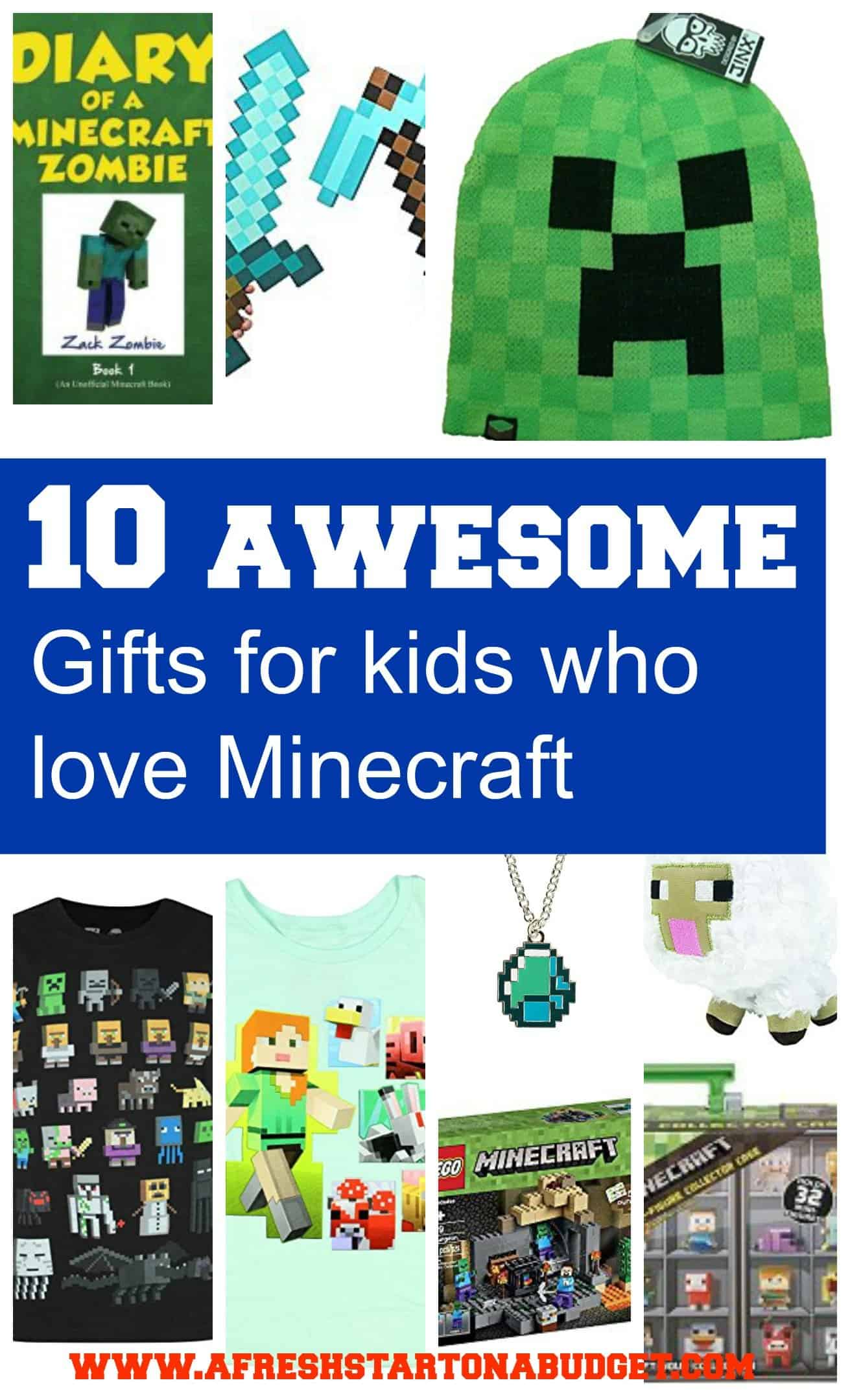 10 awesome Gifts for kids who love Minecraft