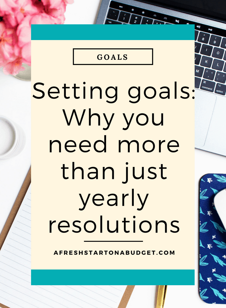 Setting goals_ Why you need more than just yearly resolutions #settinggoals #goals #resolutions