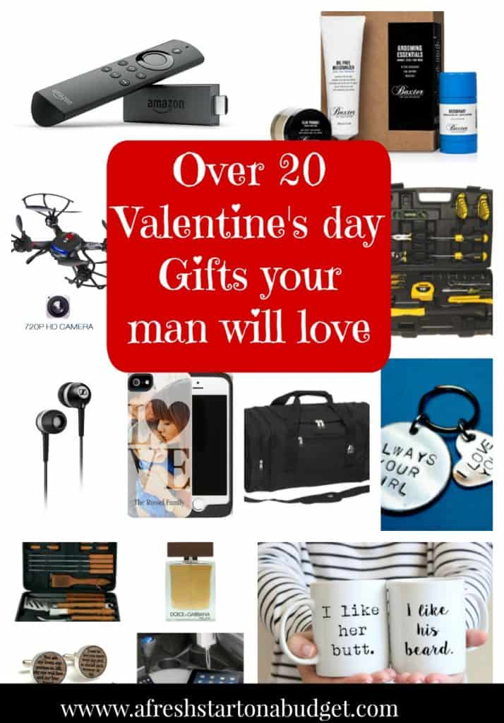 Over 20 Valentine's day Gifts your man will love
