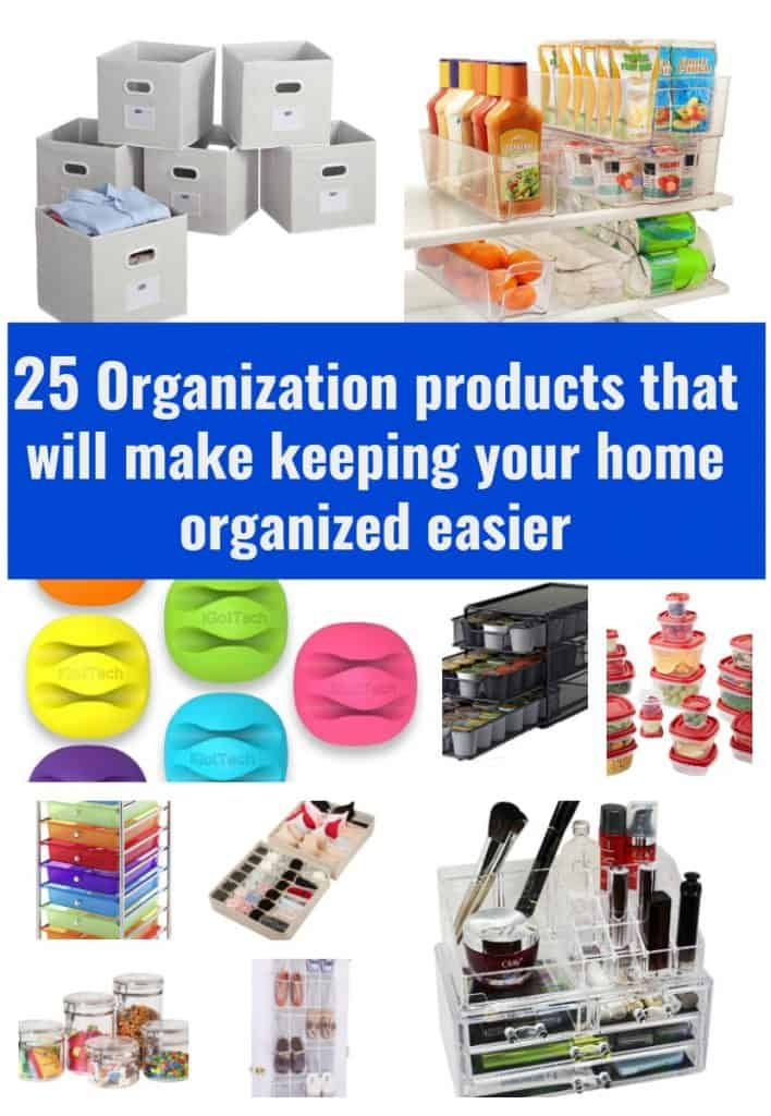 Organization products to try