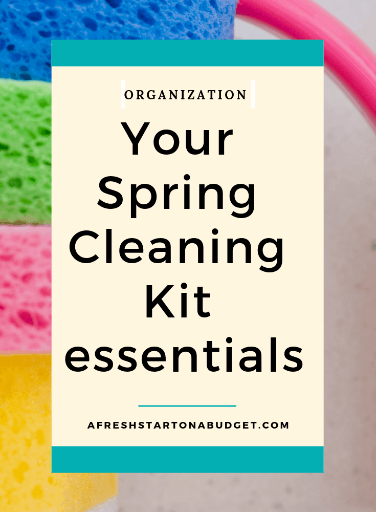 Your Spring Cleaning Kit essentials
