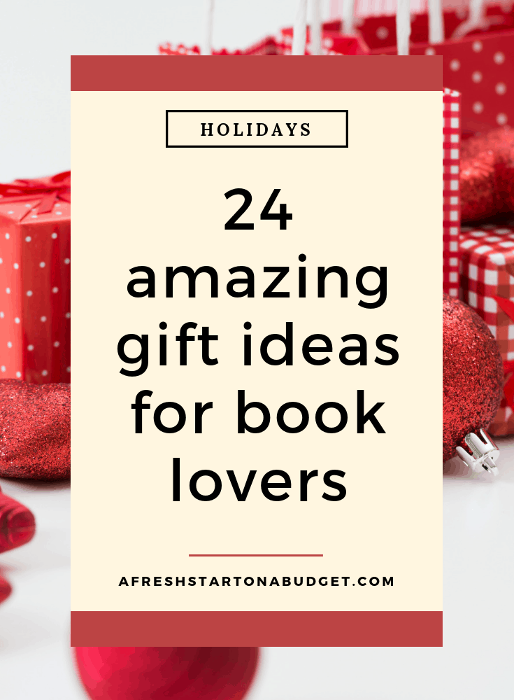 24 amazing gift ideas for book lovers