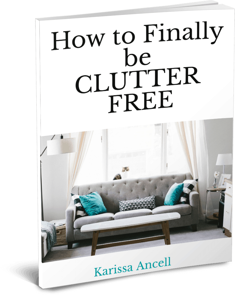 Get your copy of: How to Finally be clutter free