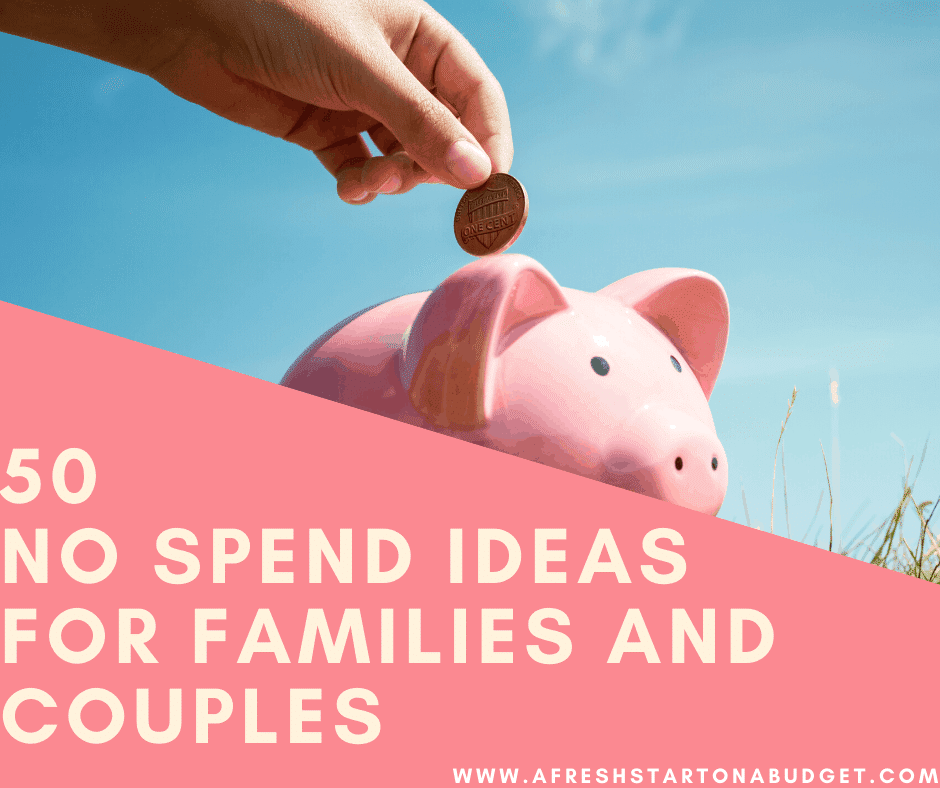 50 Inexpensive Ideas for family fun