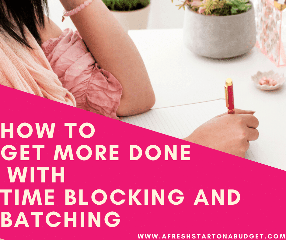 How to get more done with Time Blocking and Batching