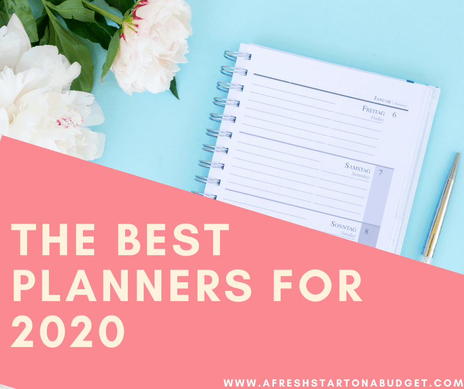 The Best Planners for 2020