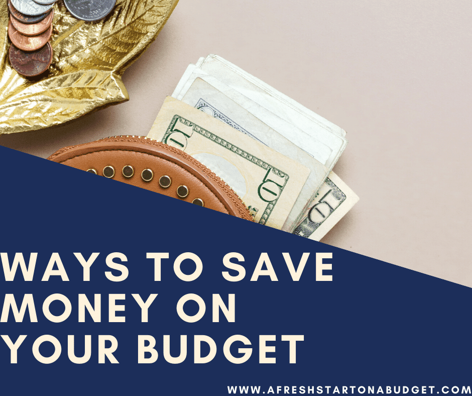 A few simple budgeting tips to save money